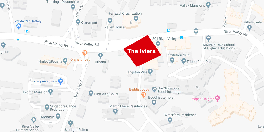 The Iviera Condo @ Somerset MRT at Kim Yam Road, district 9